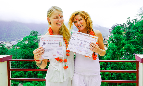 Residential Yoga Teacher Training School India